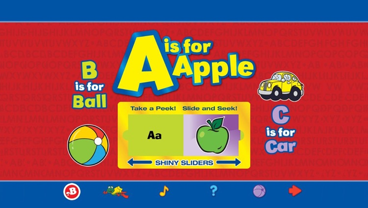A is for Apple - Shiny Sliders screenshot-0