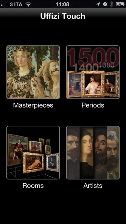 Uffizi Touch screenshot-1