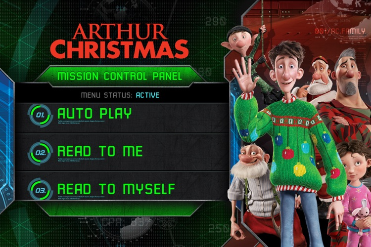 Arthur Christmas Movie Storybook