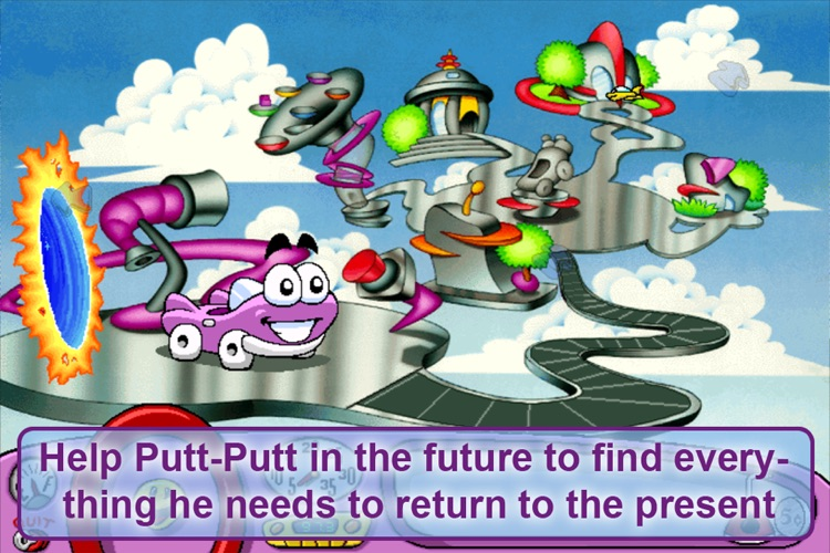 Putt-Putt Travels Through Time Lite screenshot-4