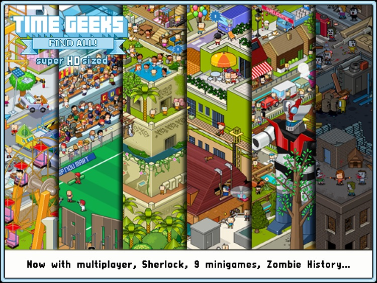 Time Geeks: Find All! HD screenshot-0