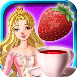 Princess Tea Party on Strawberry Candy Island