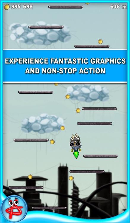 Jump Robot: Free Space Adventure screenshot-3