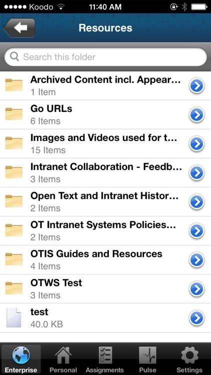 OpenText Everywhere screenshot-4