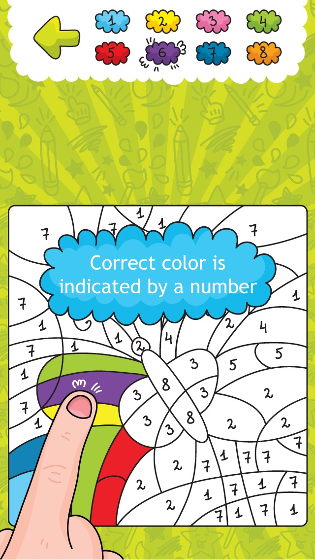 Coloring Smart - Fun and Education for Kids | | BestAppsForKids.com