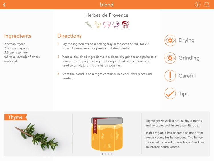 Blend : The Spice Blend Recipe App screenshot-2