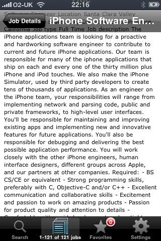 JobFinder screenshot-3