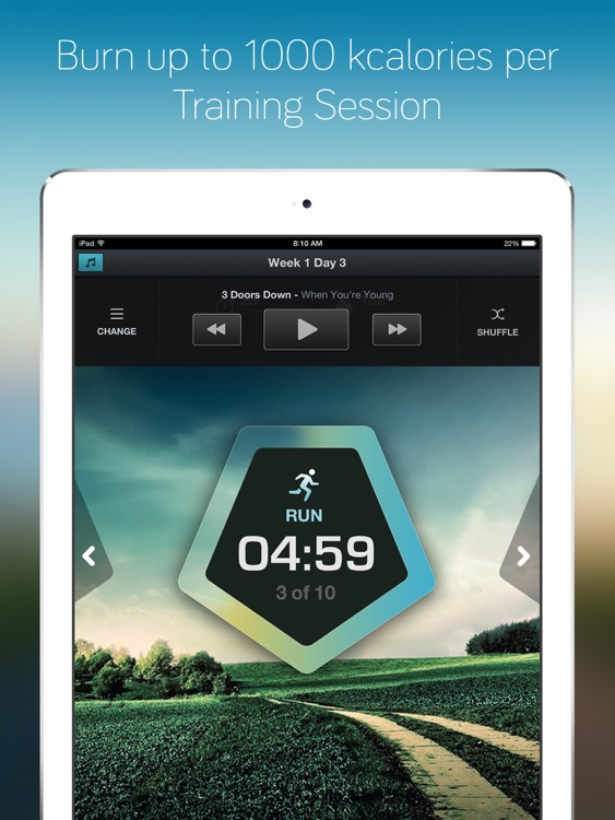 Running for Weight Loss for iPad: training plan, how-to-lose-weight tips by Red Rock Apps screenshot-4
