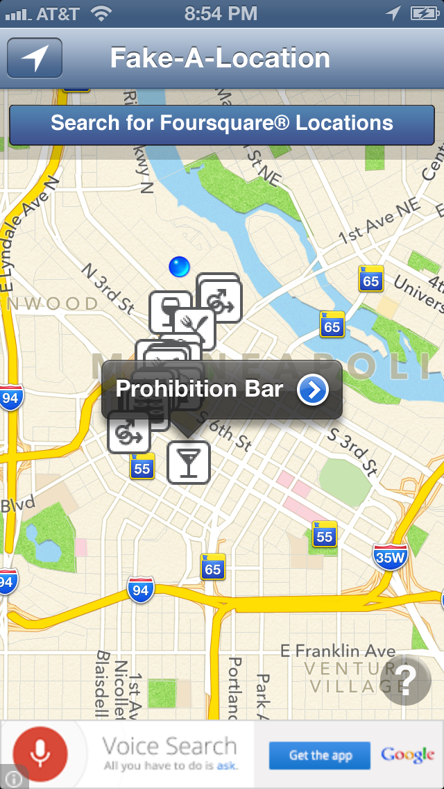 Fake-A-Location Free ™ | App Price Drops