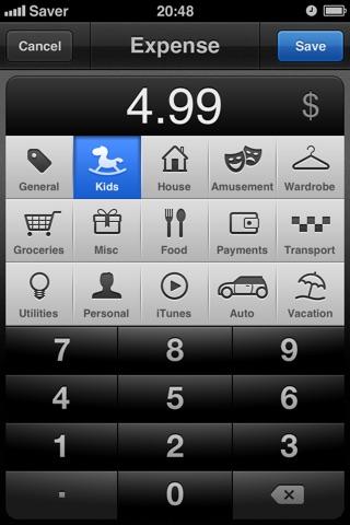 Saver ~ Control your Expenses Screenshot 3