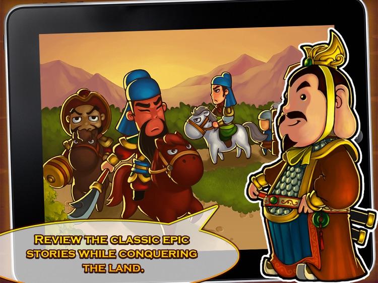 Three Kingdoms TD - Legend of Shu HD screenshot-4