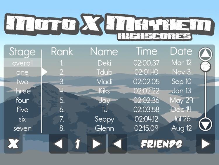 Moto X Mayhem for iPad! screenshot-4