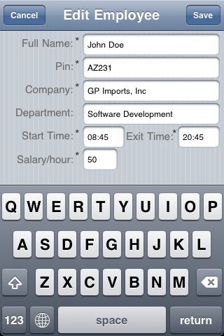 employee time tracking clock in clock out by pop ok com ios