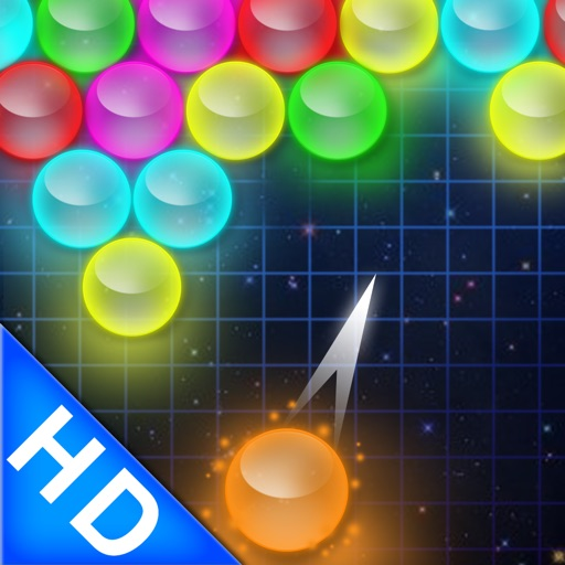 Bubble Shooter - Glow HD icon