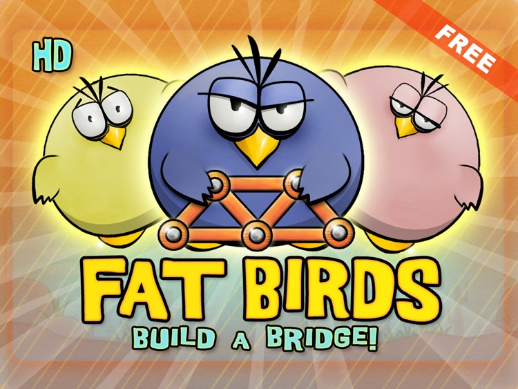 Fat Birds Build a Bridge - Free HD screenshot-3