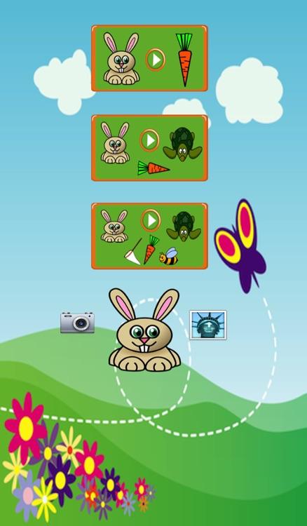 Bunny Maze Race (rabbit vs turtle) screenshot-4