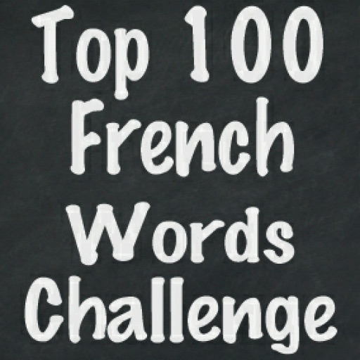Top 100 French Words Challenge Flash Cards Quiz Game