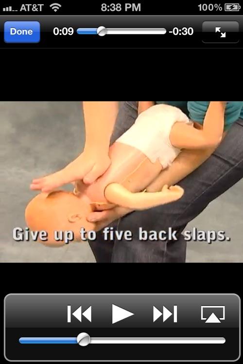 CPR & Choking screenshot-4