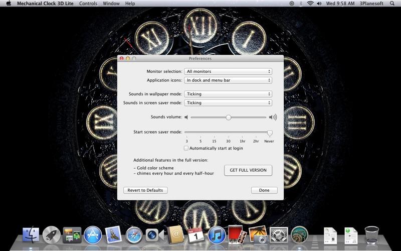 Screenshot #2 for Mechanical Clock 3D Lite