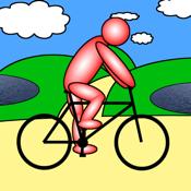 Cycling GPS icon