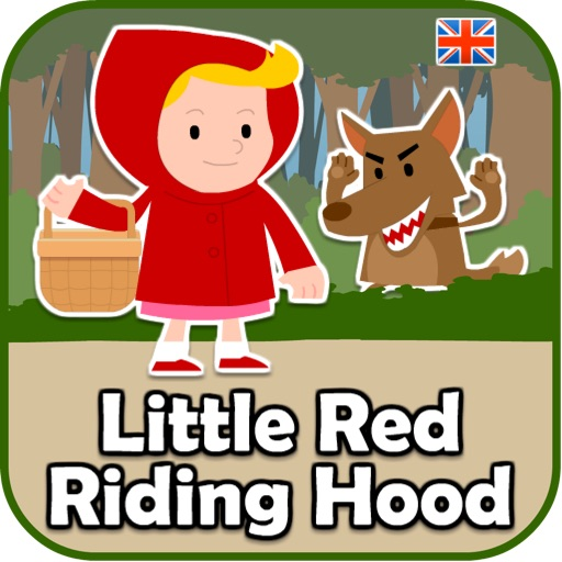 Kids Stories in English: Little Red Riding Hood (UK English)