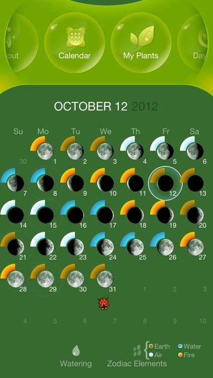 Moon Gardening Light - Grow Plants Better With Moon Phases screenshot-0