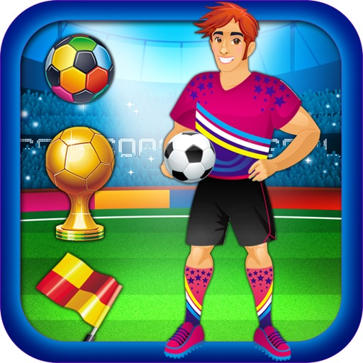 World Football Stars - Advert Free Dress Up Game