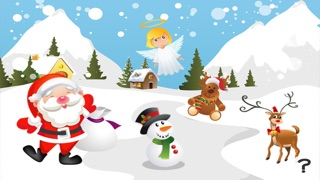Christmas game for children age 2-5: Train your skills for the holiday season! Screenshot on iOS