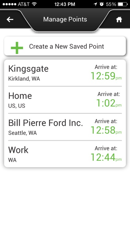Ford SYNC® Destinations screenshot-3