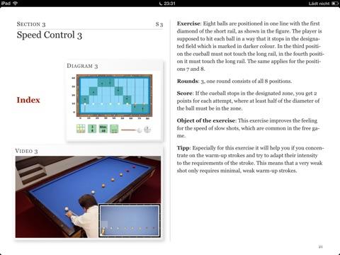 carom billiards basics by andreas efler on apple books Billiards Table screenshot 2