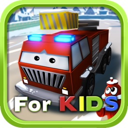 Little Fire Truck in Action - for Kids