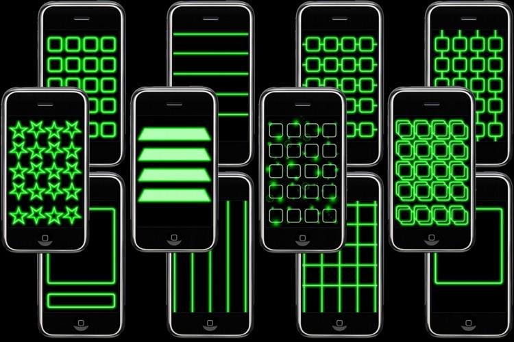 Glowing App Icons screenshot-3
