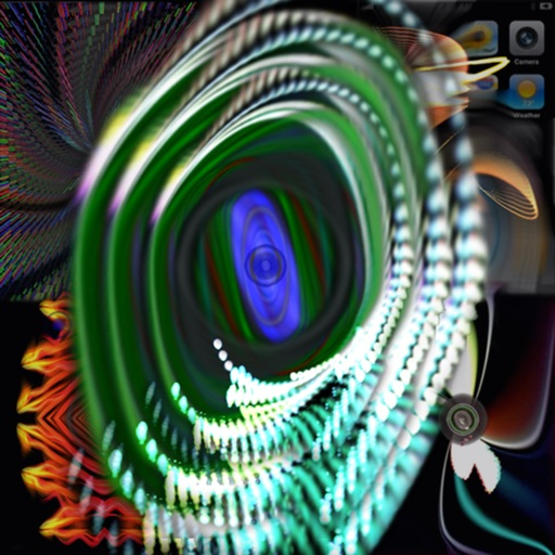 iBeams HD - Art Light Show and Music Visualizer