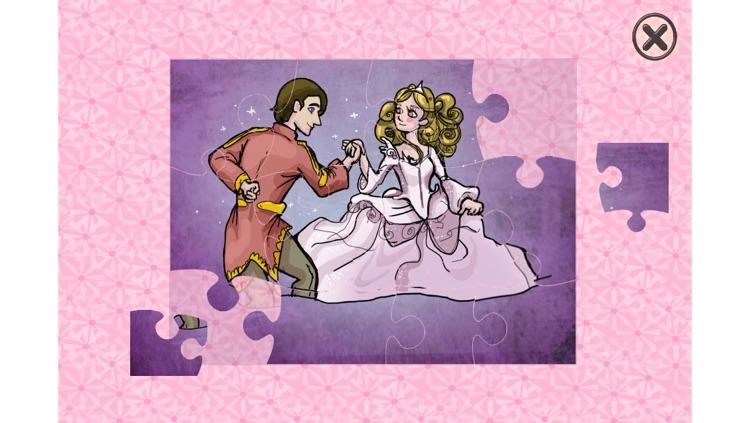 Cinderella - Cards Match Game - Jigsaw Puzzle - Book (Lite) screenshot-3
