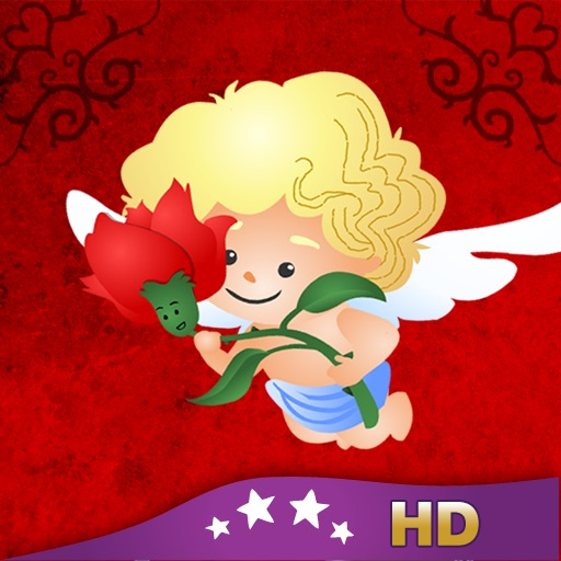 Cupid's Love Roses HD - Children's Story Book icon
