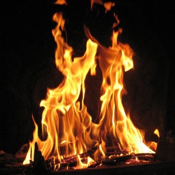 Fireplace Fire!