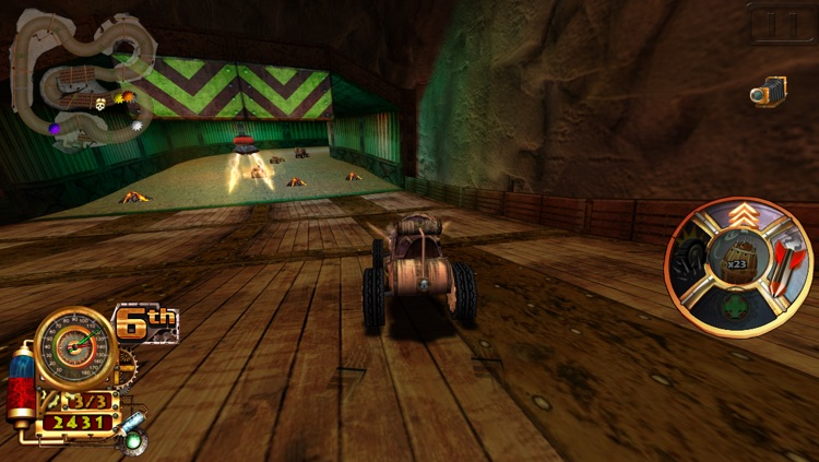 Steampunk Racing 3D screenshot-4