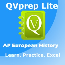 FREE QVprep Lite AP European History : Learn Test Review for AP advanced placement Euro History for SAT Subject test, for College History majors, Schools, Colleges and exam preparation
