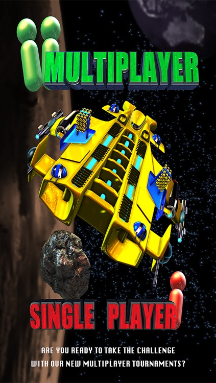 Asteroids & Planets Clash - Space Shooting Multiplayer screenshot-0