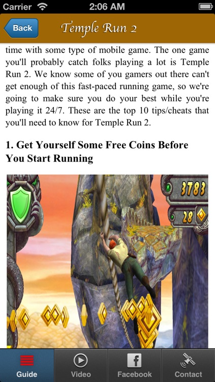 Cheats for Temple Run 2 & Complete Guide and Walkthrought screenshot-3