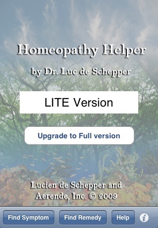 iHomeopath Lite screenshot-0