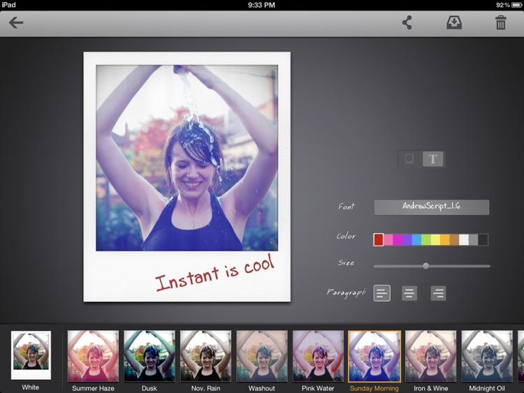 Instant: The Polaroid Instant Photos for iPad screenshot-2