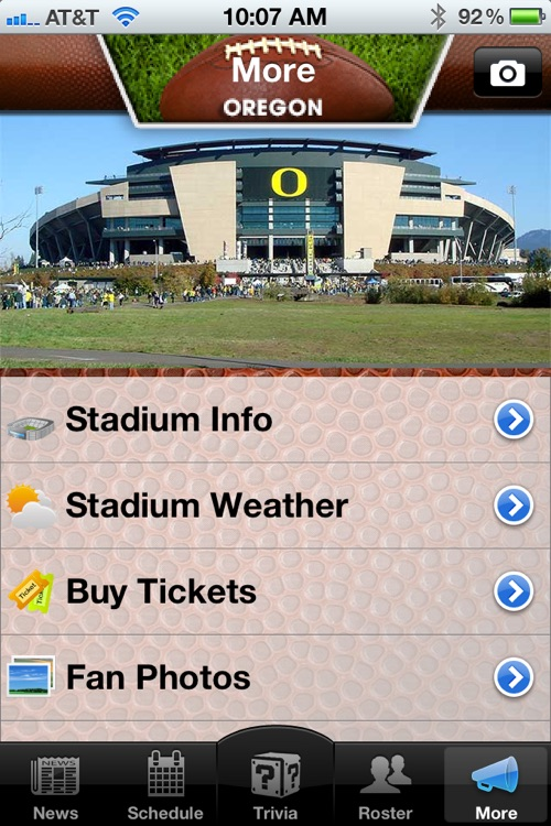 Oregon Ducks Football News, Trivia and More screenshot-3