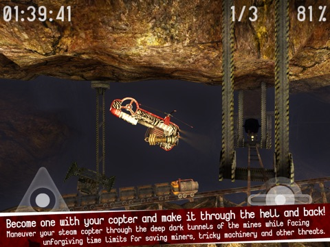 Gyro13 – Steam Copter Arcade HD Screenshot