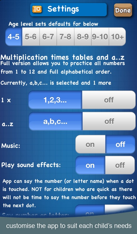 DotToDot numbers & letters lite screenshot-3