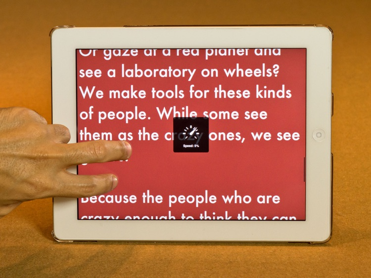 Promtr - Multitouch Teleprompter screenshot-2