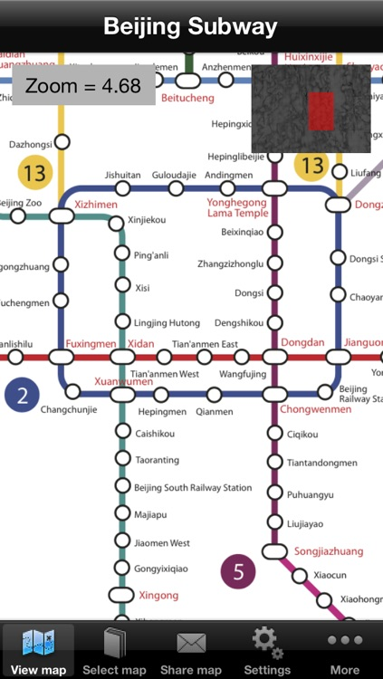 北京地铁 Beijing Metro Maps screenshot-0