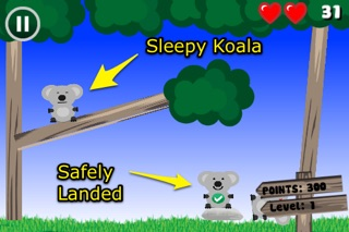 Koala Hero Lite Screenshot on iOS