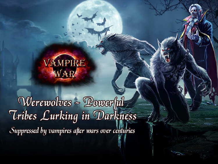 Vampire War - HD screenshot-1