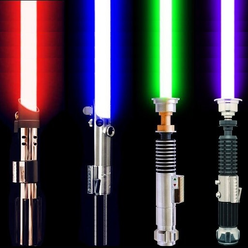 Lightsaber Builder iOS App